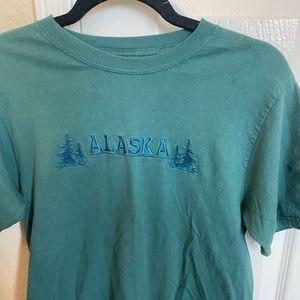 Tops - Thrifted Alaska T-Shirt